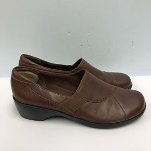Clarks bendables shoes clogs women size 9.5M brown